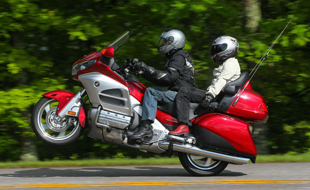 Honda Gold Wing Wheelie