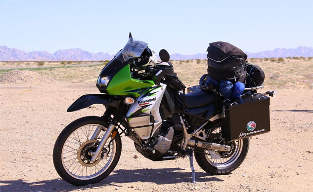 Modified Kawasaki KLR650