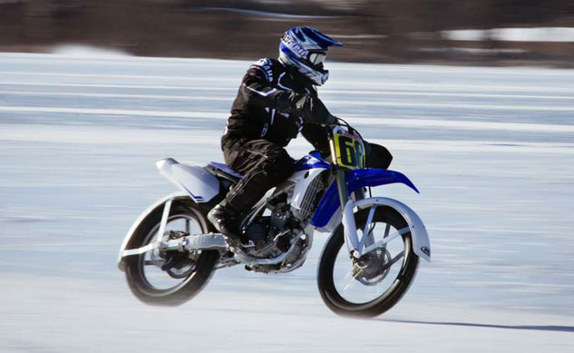 Motorcycle Ice Racing