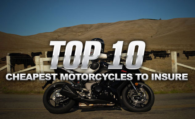 Top 10 Cheapest Motorcycles To Insure