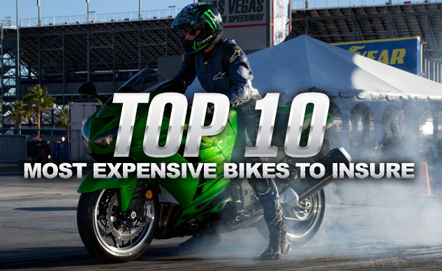 Top 10 Most Expensive Motorcycles To Insure