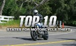 Top 10 States for Motorcycle Theft