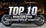 Top 10 Months For Motorcycle Theft