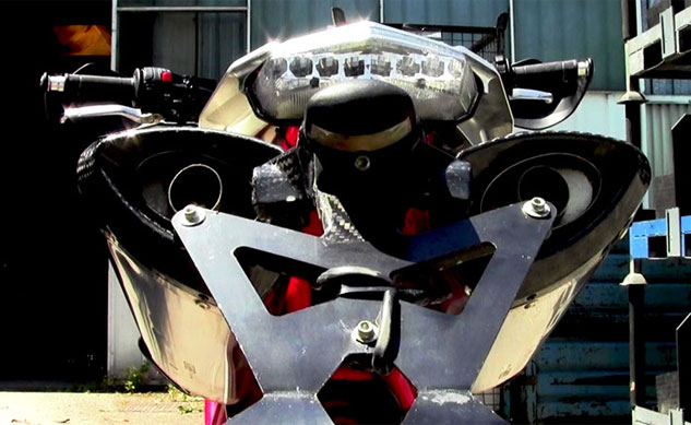2013 Bimota DB10 B.Motard Rear