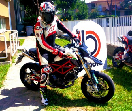 2013 Bimota DB10 B.Motard Right Side