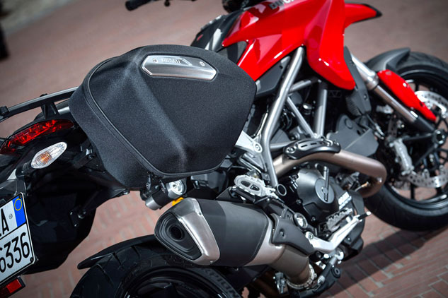 2013 Ducati Hyperstrada Luggage