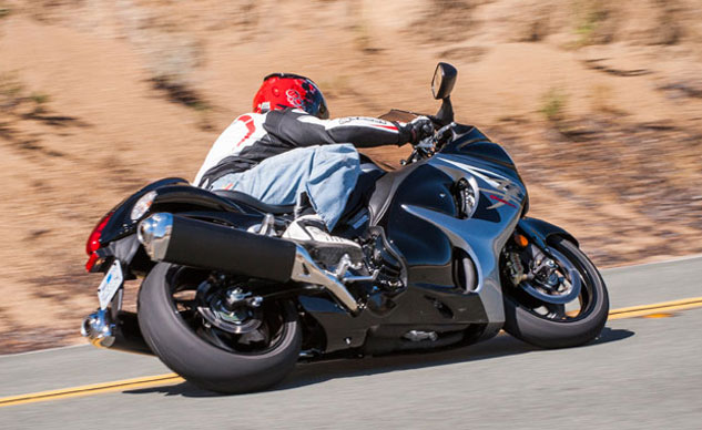2013 Suzuki Hayabusa Action Rear