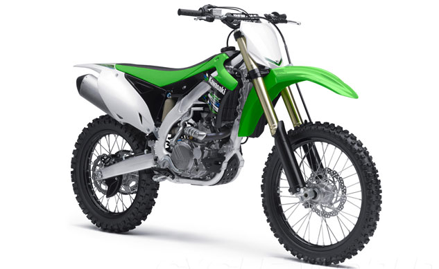 2014 Kawasaki KX450F Front Right
