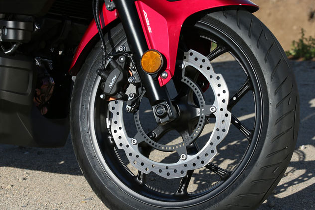 Motorcycle ABS Brakes