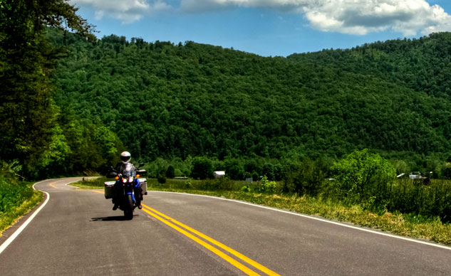 Motorcycle Riding in Pocahontas County