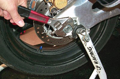 Tire Changing Rear Axle Removal