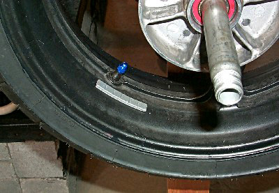 Tire Changing Wheel Weights