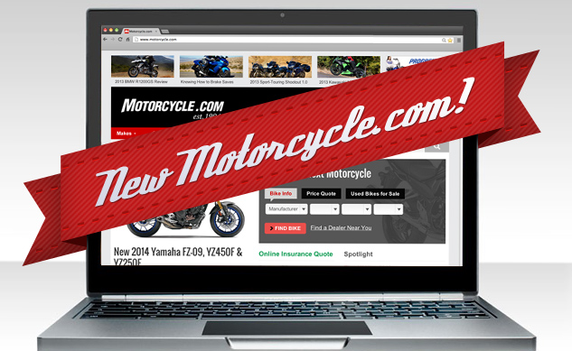 Welcome to the New Motorcycle.com