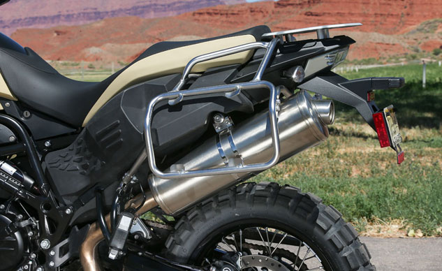 2013 BMW F800GS Adventure Saddlebag Mounts