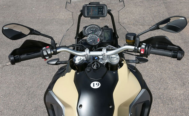 2013 BMW F800GS Adventure Cockpit