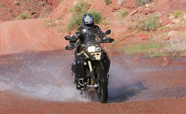 2013 BMW F800GS Adventure Action Water