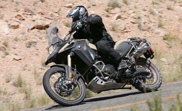 2013 BMW F800GS Adventure On Road Action