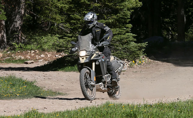 2013 BMW F800GS Adventure Off-Road Action