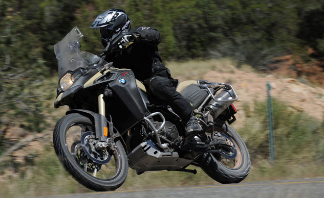 2013 BMW F800GS Adventure Action Left