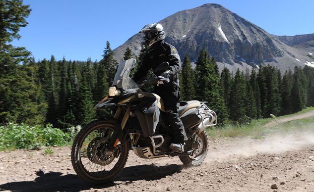 2013 BMW F800GS Adventure Dirt Riding