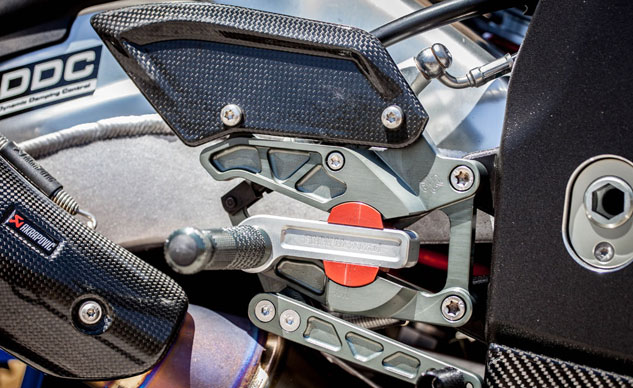 2013 BMW HP4 Adjustable Footpegs