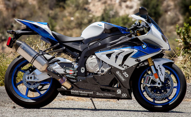 2013 BMW HP4 Profile