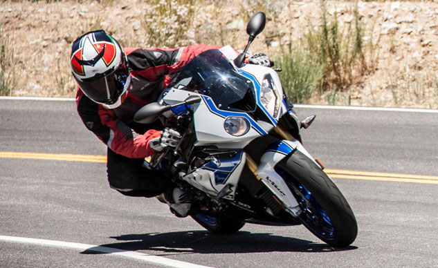 2013 BMW HP4 Action