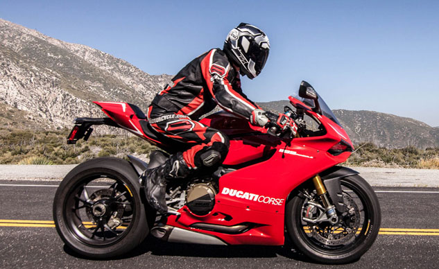 2013 Ducati Panigale R Action