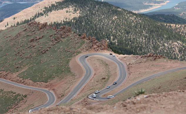 2013 Pikes Peak Course