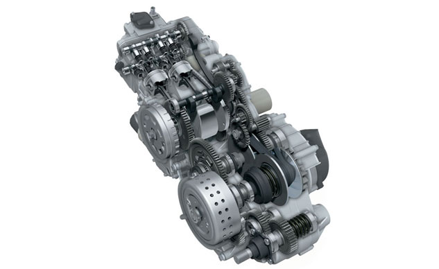 2013 Suzuki Burgman 650 ABS Engine