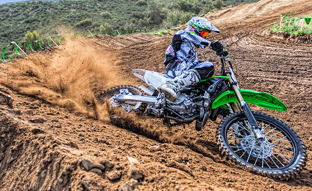 2014 Kawasaki KX100 Feature