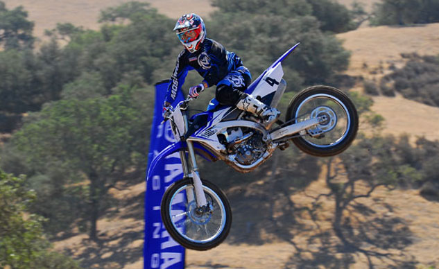 2014 Yamaha YZ450F Action Feature