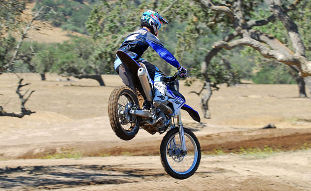 2014 Yamaha YZ450F Action Rear