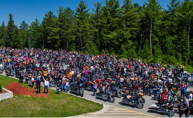 Bikers Reunion Temiskaming Hospital