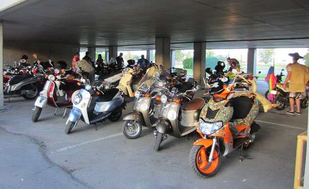 Mad Bastard Scooter Rally Group