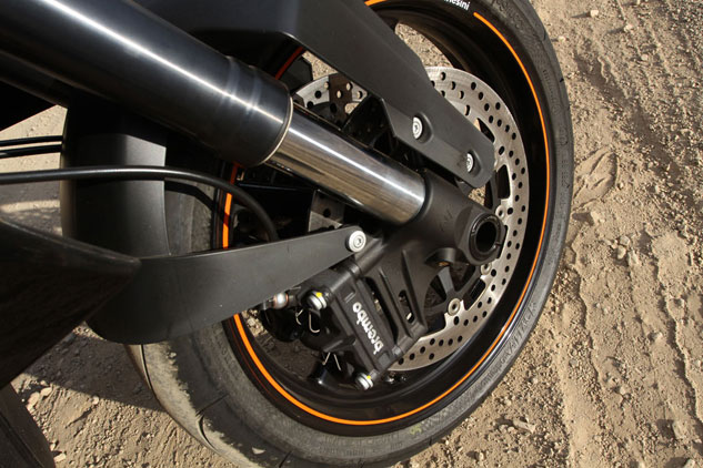 KTM 990 SM-T Suspension