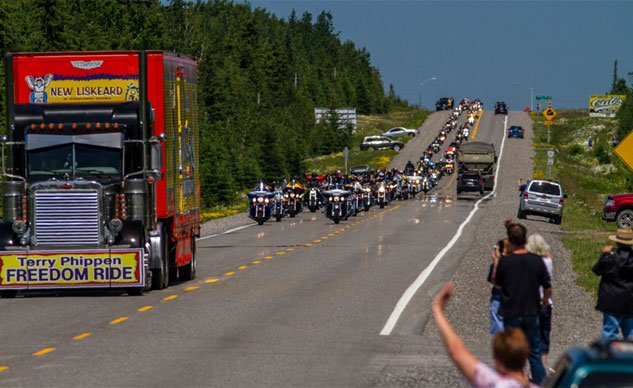Motorcycle Rally in Ontario