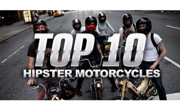 Top 10 Hipster Motorcycles