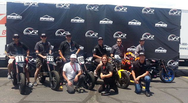 Zero Motorcycles Pikes Peak Team