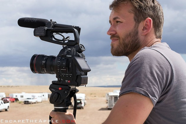 A behind-the-scenes look at rooftop truck filming in one of the only flat parts of Colorado.