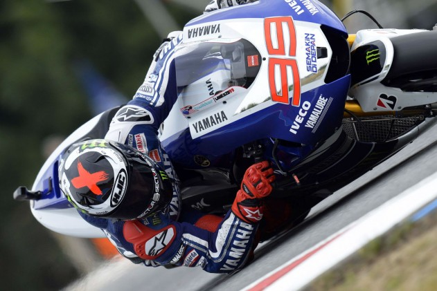 Jorge Lorenzo faces an especially difficult challenge, having to deal with both Repsol Hondas each race.