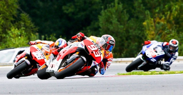 Since Assen, Marc Marquez has been nearly unstoppable, leaving Dani Pedrosa and Jorge Lorenzo scrambling to catch the young phenom.