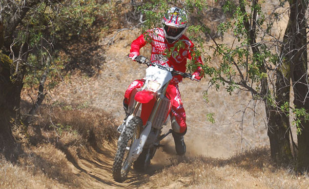 2013 Honda CRF450X Action Trail
