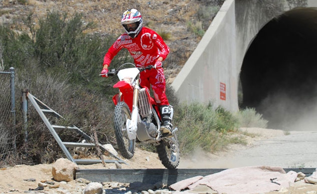2013 Honda CRF450X Suspension