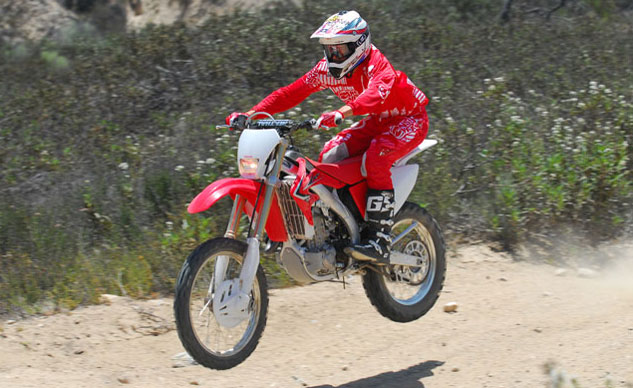 2013 Honda CRF450X Catching Air