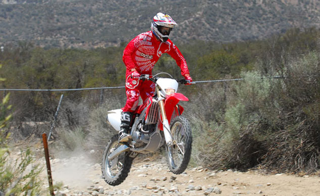 2013 Honda CRF450X Action Front