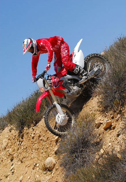 2013 Honda CRF450X Descent