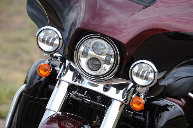 2014 Harley-Davidson Ultra Limited Headlights