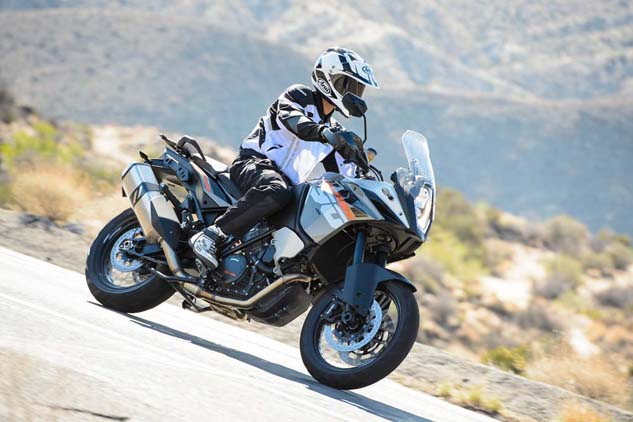 The new 1190 Adventure places KTM squarely in the mix of its contemporaries including the new BMW GS, Triumph Tiger Explorer and Yamaha Super Ténéré. How, exactly, it measures up against these A-T competitors is fodder for a future shootout.