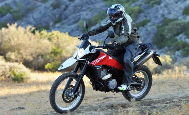 Best Adventure Motorcycle: 2013 Husqvarna TR650 Terra